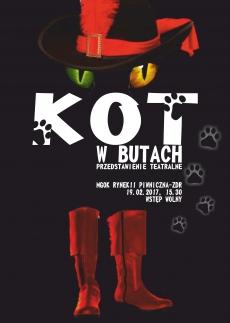 """""""KOT W BUTACH""""  - przedstawienie teatralne"""