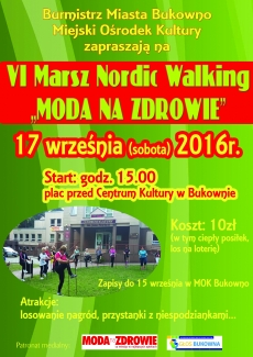VI Marsz Nordic Walking