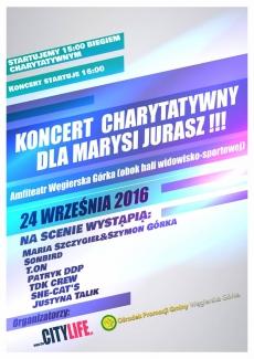 Koncert Charytatywny dla Marysi Jurasz