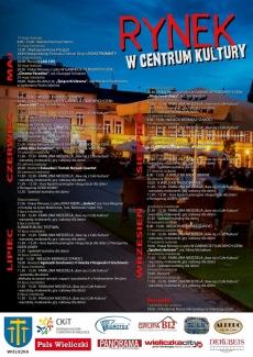 """RYNEK W CENTRUM KULTURY - """"Baw się z Cafe Kultura"""" wrzesień"""