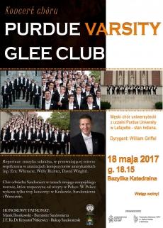 Koncert chóru Purdue Varsity Glee Club