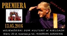 """13 maja 2016 r. Piotr Restecki przedstawi w WDKu premierowy materiał z płyty """"One Question"""""""