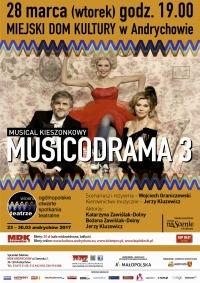 Spektakl gościnny: MUSICODRAMA 3. Musical kieszonkowy.