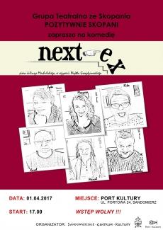 """Spektakl komediowy """"Next-ex"""""""