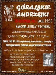 Góralskie Andrzejki 2017