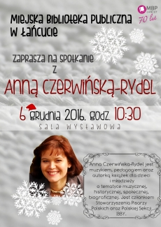 Spotkanie z Anną Czerwińską - Rydel