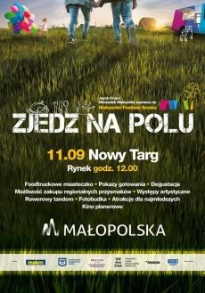 """Małopolski Festiwal Smaku """"Zjedz na Polu"""""""
