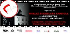 """Wykład Stanisława Apostoła pt. """"Dziedzictwo Konfederacji Tatrzańskiej"""""""