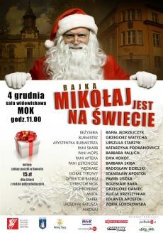 Mikołaj jest na świecie - spektakl teatralny dla dzieci