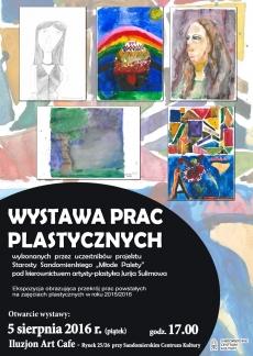 Wystawa prac plastycznych w Sandomierzu