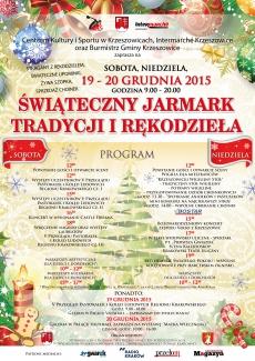 Świąteczny Jarmark Tradycji i Rękodzieła
