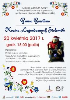 """Spotkanie pt. """"Gmina Gniewino - Kraina Legendarnych Stolemów"""""""