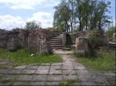 Ruiny zamku krzyżackiego w Kostrzynie nad Odrą