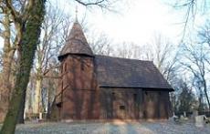 Drewniany kościół w Jakubowicach