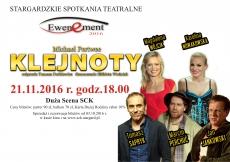 "EWENEMENT 2016: SPEKTAKL PT ""KLEJNOTY"""