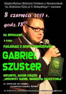 spotkanie z Gabrielem Szusterem
