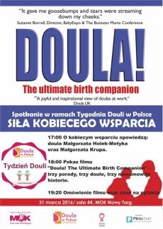 Spotkanie w ramach Tygodnia Douli w Polsce