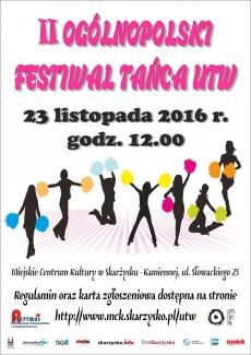 II Ogólnopolski Festiwal Zespołów Tanecznych UTW
