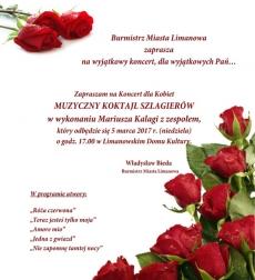 MUZYCZNY KOKTAJL SZLAGIERÓW Mariusza Kalagi na Dzień Kobiet
