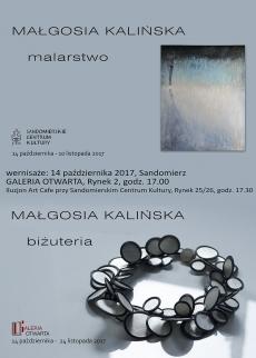 Wernisaż wystawy malarstwa Małgosi Kalińskiej