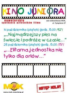 Kino Juniora w październiku