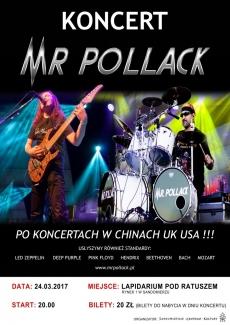 Koncert Mr Pollack