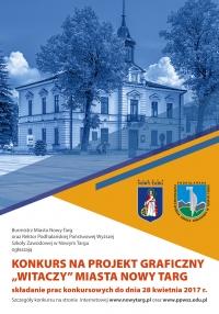 """Konkurs na projekt graficzny """"Witaczy"""" Miasta Nowy Targ"""