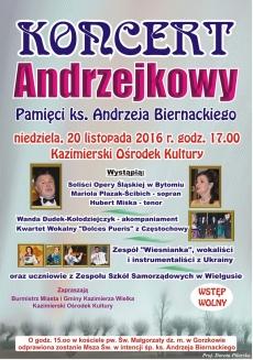 Koncert Andrzejkowy w Kazimierzy Wielkiej