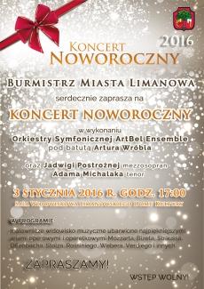 Koncert Noworoczny w wykonaniu Orkiestry Symfonicznej ArtBel Ensemble z Wrocławia