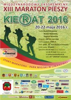 XIII Międzynarodowy Ekstremalny Maraton Pieszy KIERAT 2016