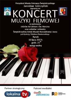 Koncert muzyki filmowej na Rynku