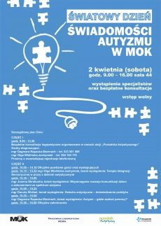 Światowy Dzień Świadomości Autyzmu w MOK
