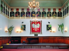 Sala królewska w Mielcu