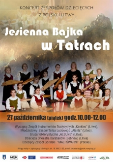 Jesienna Bajka w Tatrach