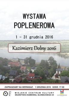"""Wystawa poplenerowa """"Kazimierz Dolny"""""""