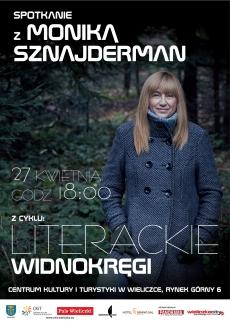 LITERACKIE WIDNOKRĘGI z Moniką Sznajderman