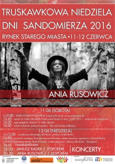 Dni Sandomierza/Truskawkowa Niedziela 2016