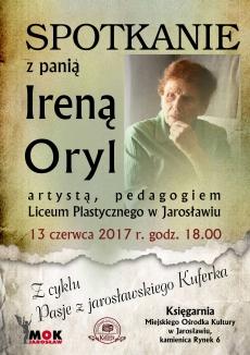 Spotkanie z panią Ireną Oryl
