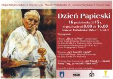 Dzień Papieski w Muzeum Podhalańskim