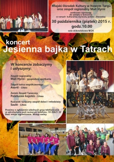 "Koncert ""Jesienna bajka w Tatrach"""