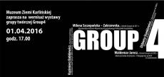 Wernisaż wystawy GROUP4