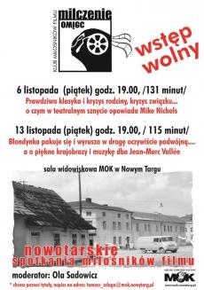 Listopadowe Nowotarskie Spotkania Miłośników Filmu