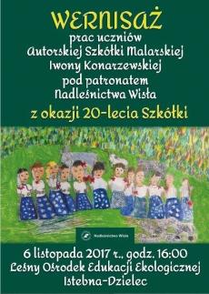 Wernisaż prac uczniów Autorskiej Szkółki Malarskiej Iwony Konarzewskiej