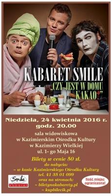 Kabaret SMILE w Kazimierzy Wielkiej
