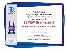 Wernisaż wystawy prac plastycznych SSMSP Brama