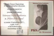 PKSem do Brzozowa. Promocja tomiku wierszy