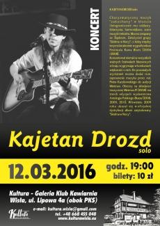 Koncert Kajetan Drozd solo