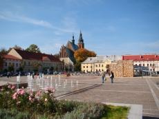 Rynek w Olkuszu