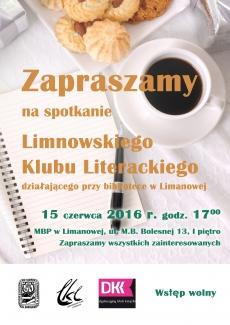 Spotkanie Limanowskiego Klubu Literackiego