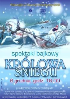 Królowa Śniegu - spektakl bajkowy